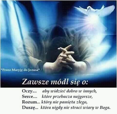 Znalezione obrazy dla zapytania modlitwa o rozum